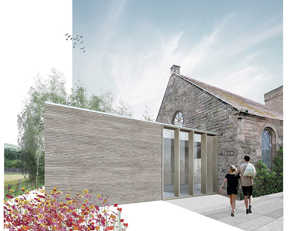 Church renovation in the Scottish Borders