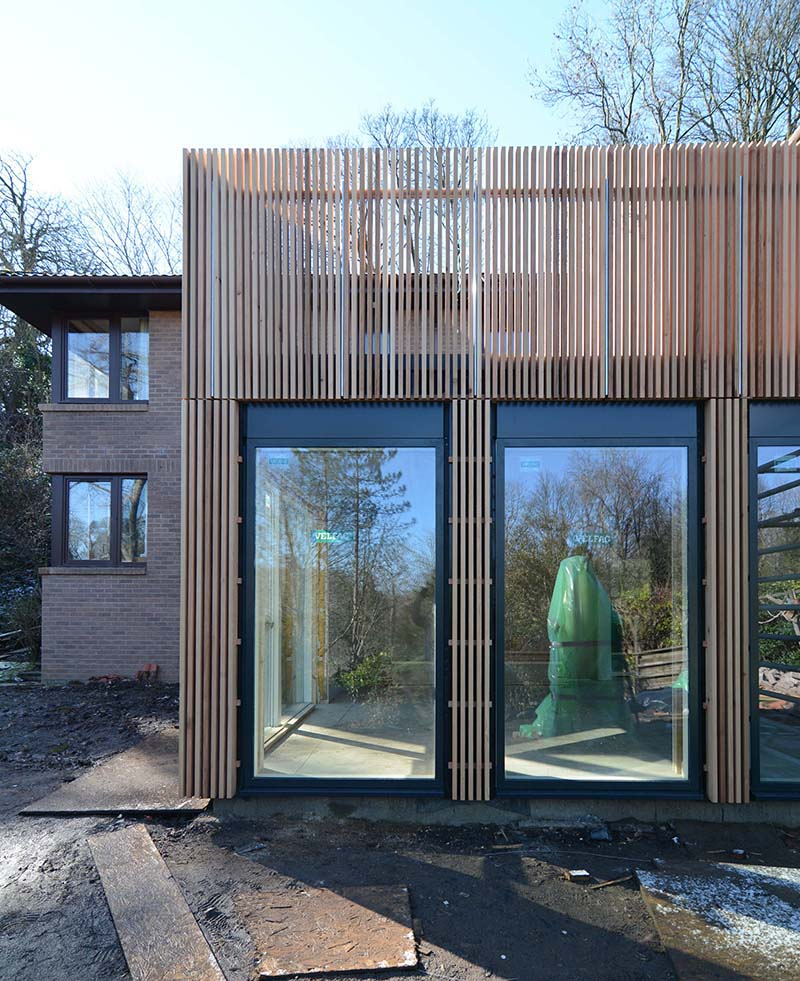 House Extension Edinburgh by Sutherland & Co. Architects East Lothian